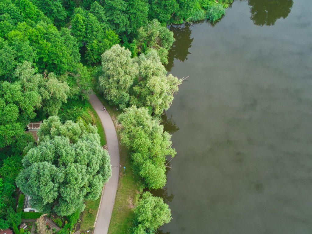 Radweg am Mündesee