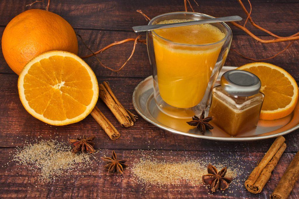 würzige Orange