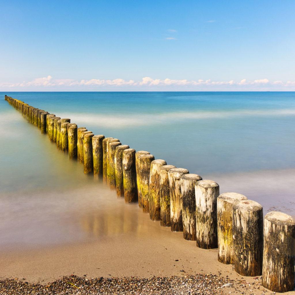 Strand Nienhagen - Wellenbrecher