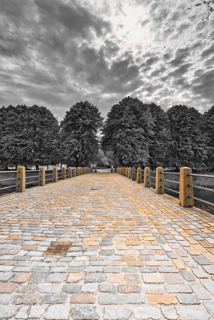 Brücke zum Schloss Ahrensburg