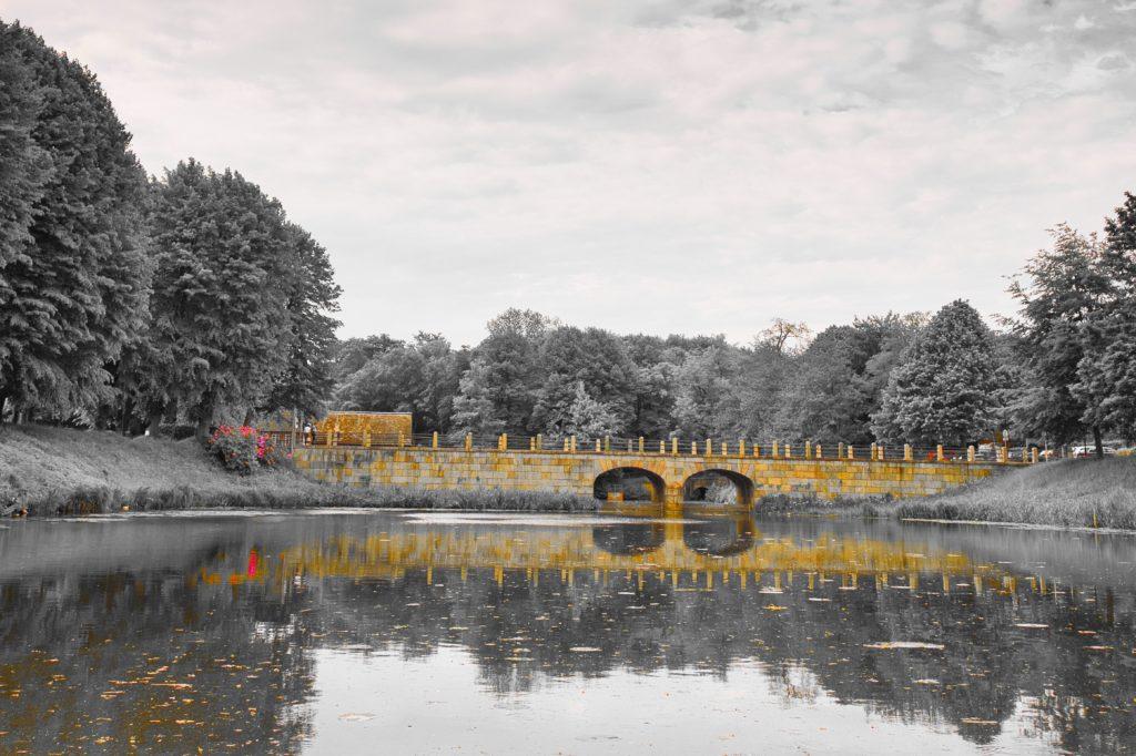 Brücke Schloss Ahrensburg