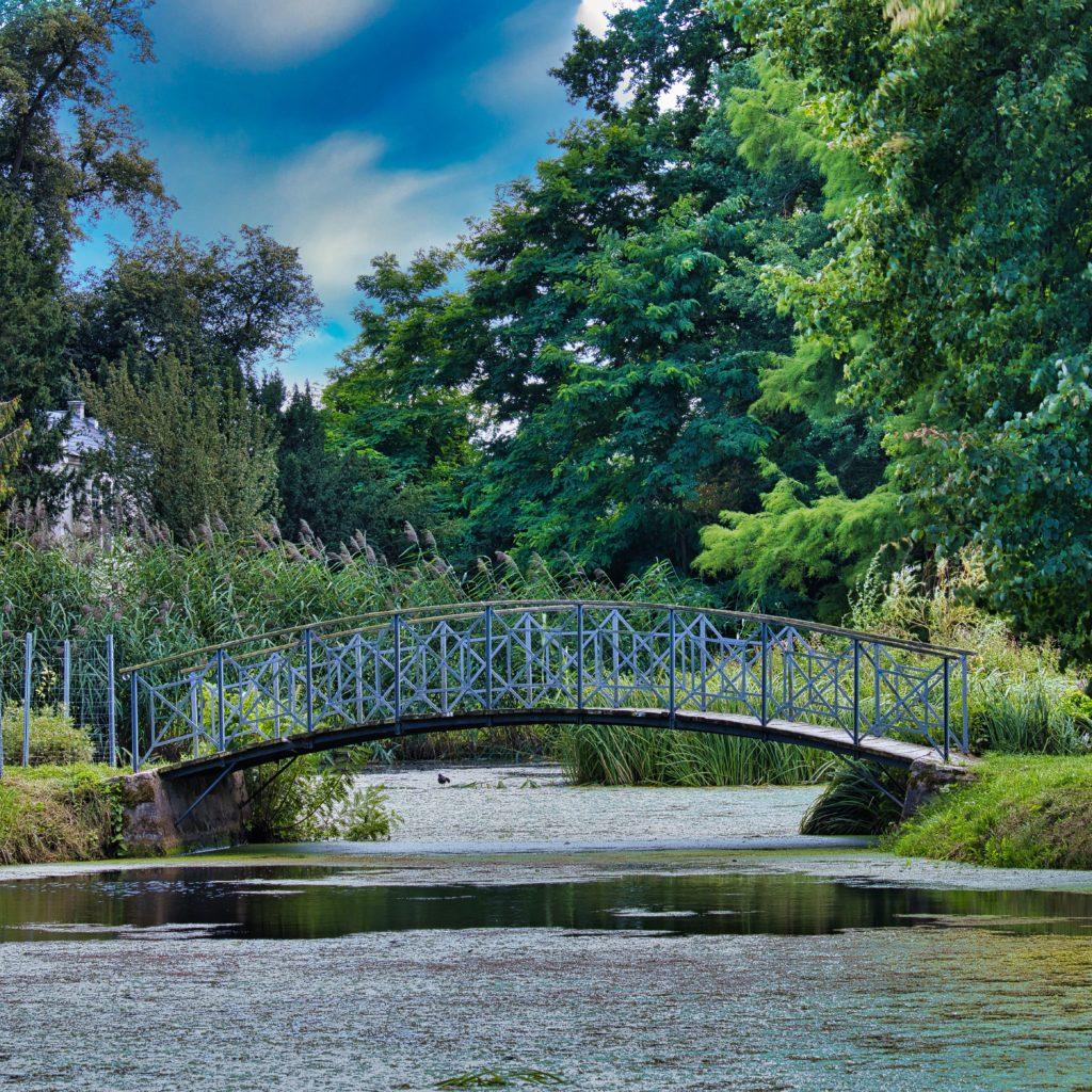 Brücke über den Schlosssee Criewen