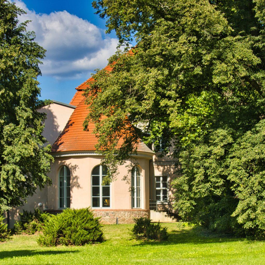 Turmanbau Schloss Criewen