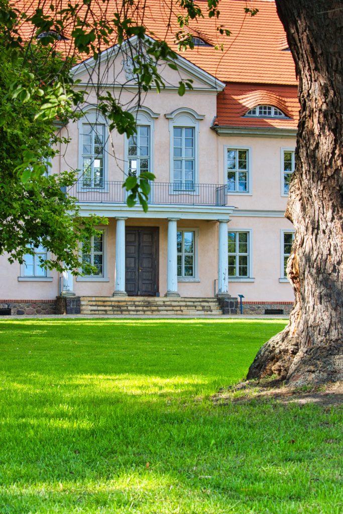 verträumter Blick Schloss Criewen