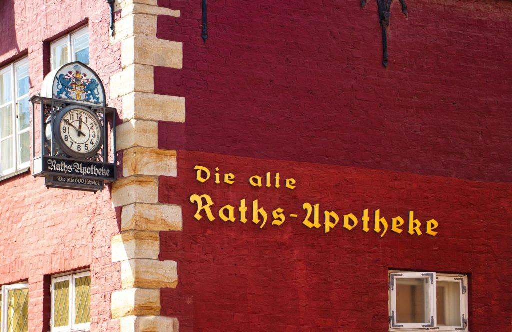 Die Alte Raths-Apotheke Lüneburg