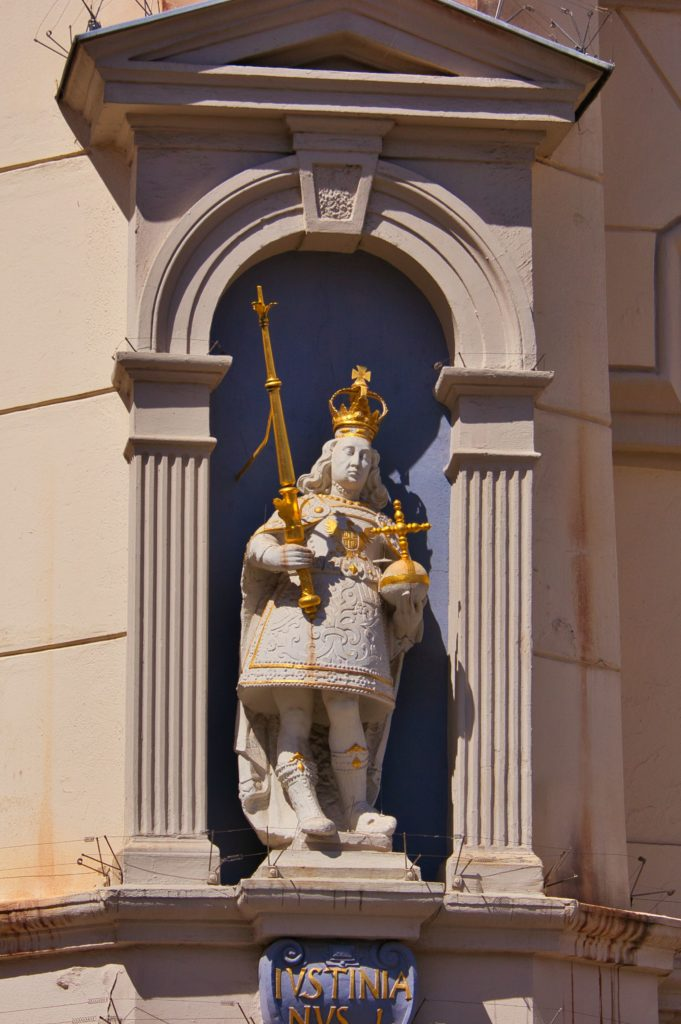 Iustinianus I - Lüneburger Rathaus