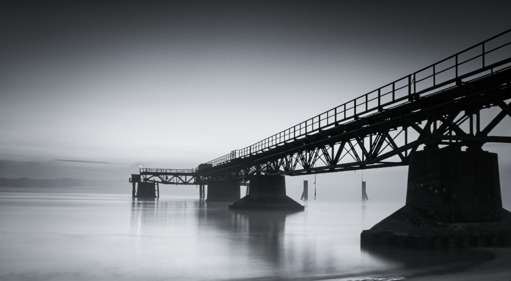 Seebrücke Grauer Ort
