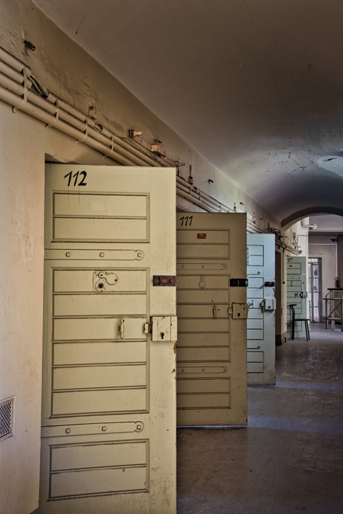 Zelle 107 bis 112 Gefängnis Köpenick