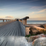 Sonnenuntergang Seebrücke Kellenhusen