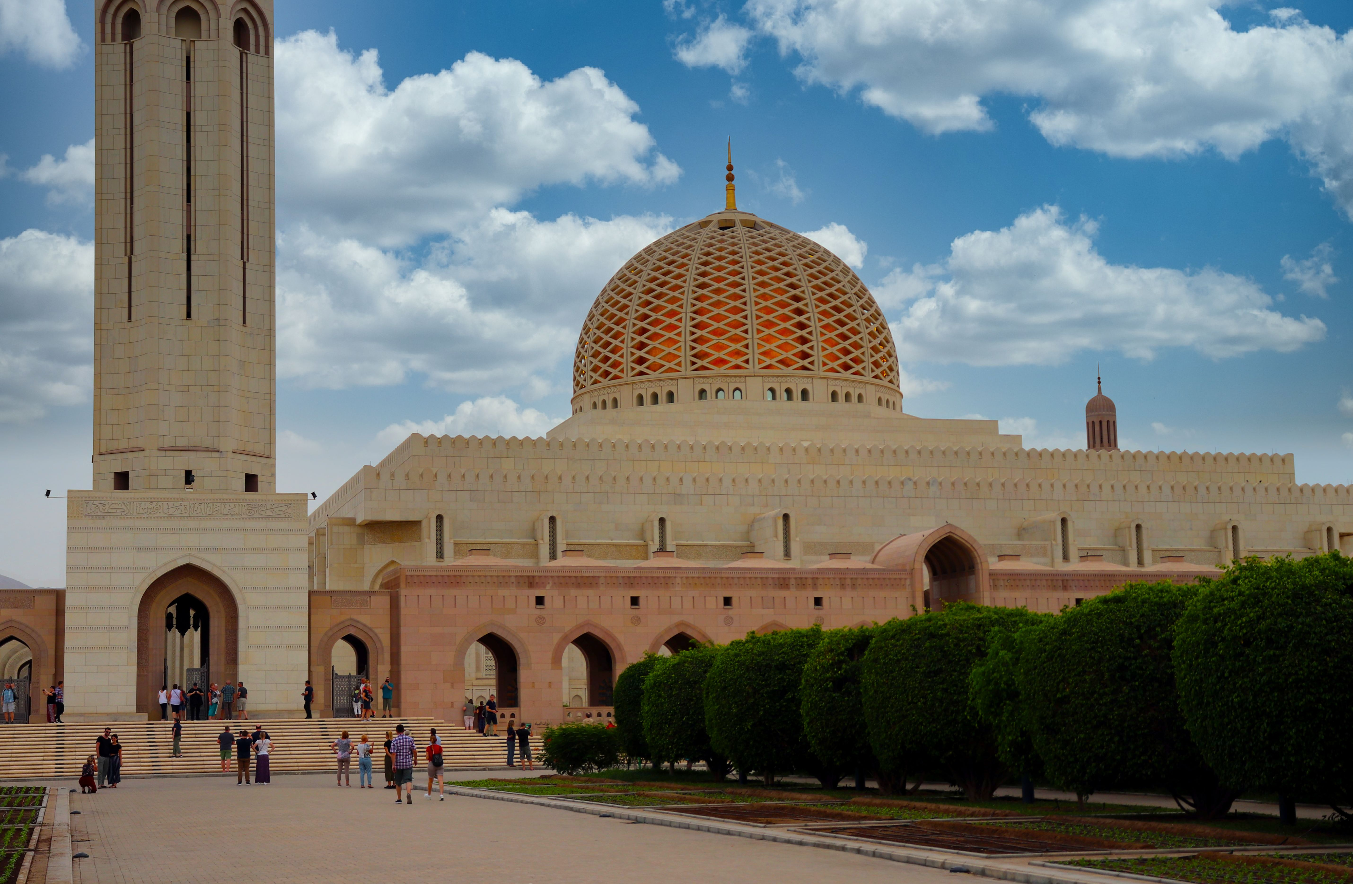 Sultan Qadoos Moschee